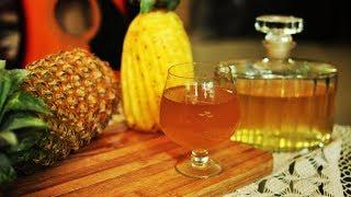 പൈൻ ആപ്പിൾ വൈൻ easy recipe in malayalam | pineapple wine recipe for christmas
