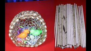 How to make Nest easily with paper /Bird House Craft Ideas/ New craft idea 2019 | new DIy Idea 2019