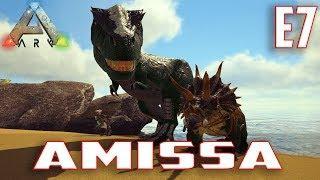 Let's Play ARK: Survival Evolved (Single Player Amissa)Ep.7-Raptor Breeding,Trike Taming