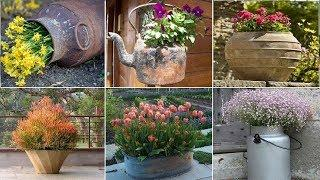 58+ best fall container flower gardening ideas to make lovely your house and garden