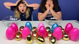 Don't Choose the Wrong Easter Egg Slime Challenge
