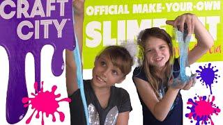 Honest Toy Review- Craft City Make Your Own Slime Kit and 2 Pack of Premade Breakfast Scented Slimes