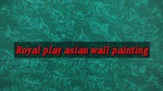 Wall painting Royal play design - Asian paints