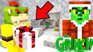 HOW THE GRINCH AND BOWSER JR SAVED CHRISTMAS! | Nintendo Fun House | Minecraft [391]