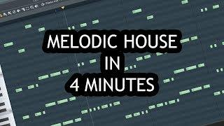 MAKE MELODIC HOUSE DROP IN 4 MINUTES [FL STUDIO]