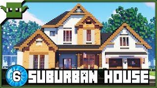 Minecraft 1.13 Suburban House 6 Creative Showcase