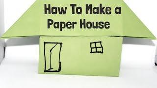 Origami House | How To Make an Origami Paper House Easy