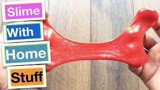 How To Make Slime With Everyday Home Ingredients Without Glue or Borax!! Easy Slime Recipes