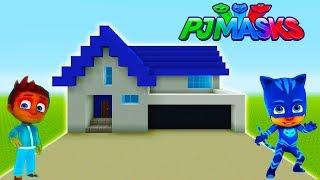"Minecraft: How To Make Connors House (Cat Boys House) ""PJ Masks"""