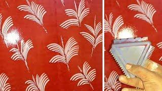 asain paints wall texture painting new design | interior design ideas