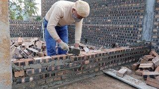 Amazing Construction Bricks Walls Compilation 2018 - How To Build House Step By Step