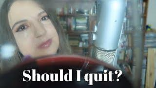 ASMR Wine and Beauty Chat: Do I even deserve to have makeup and make videos with it?