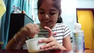 Making slime! Learn how to make slime using activator,glue and baking soda
