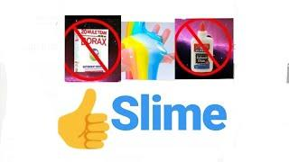 How to make slime without using glue and borax / Girl's creative club by Rameesha
