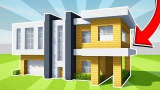 MINECRAFT: HOW TO BUILD A LARGE MODERN HOUSE TUTORIAL (#18)(PC/XboxOne/PS4/PE/Xbox360/PS3)