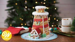 How to Make a Gingerbread Lighthouse | Wilton