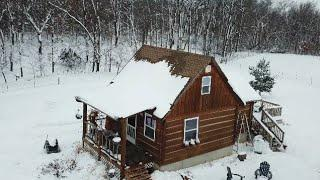 Little house in the BIG snow ~ keep it simple