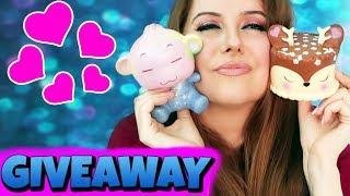 Squishy Giveaway! Gearbest Squishy Slime Package Review- KIMYOKITTEN