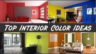 Top interior colour combination for house | interior colour design ideas