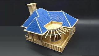 How to Make a Small and Beautiful House by using Stick Bamboo - Stick Bamboo Cottage