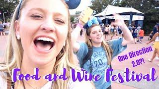 One Direction at Food and Wine Festival?!? | DCP Fall 2018