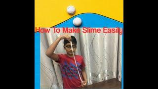 How To Make Slime With Home Ingredients - Without Borax