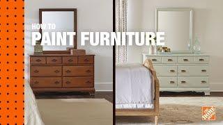 How to Paint Furniture | Refinishing Wood Furniture