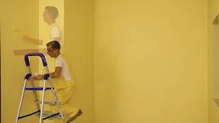 Tips on how to paint walls after applying JK Wall Putty