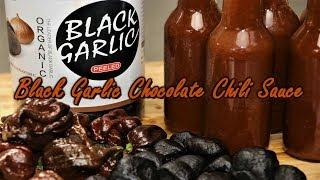 Fermented Black Garlic Chocolate Chili Sauce (Hottest sauce of it's kind in the world)