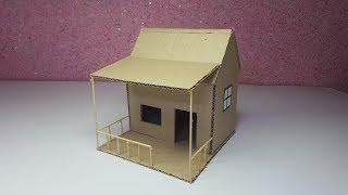How To Make A Beautiful Mansion House From Cardboard - Step by Step - Dream House