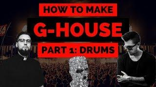 How to Make G-House Drums like Matroda, Malaa, Tchami, Destructo  [FREE PROJECT FILE + PRESETS]