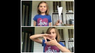 How To Make A Paper Airplane And The Heart Finger Tutting Challenge