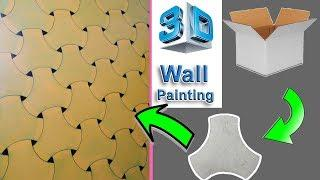 YouTube videos Awesome Background | 3D Wall Paint | Kids Room Renovation