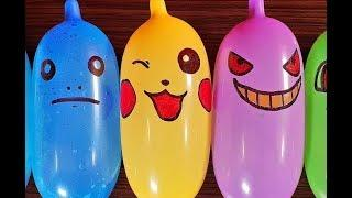 Making Slime With Funny Balloons Satisfying Slime Videos # 5