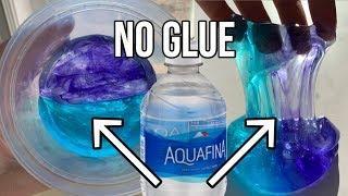 1 INGREDIENT SLIME! ????Testing NO GLUE Water Slimes! DIY NO GLUE Slime
