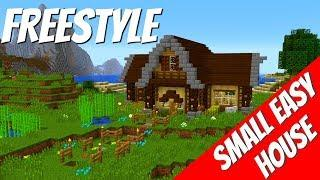 How to Make a House in Minecraft with Just 5 Small Squares with Avomance: Minecraft House Tutorial