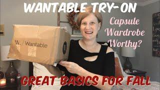 Wantable October 2018 / This would make a great capsule wardrobe / Great Denim