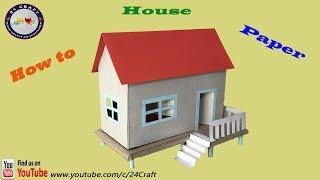 Wow!!! Best House Paper - How to Make a House Paper - Creative Ideas - Tutorial For Kids - DIY
