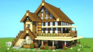 Best Survival House Tutorial Ever How To Build An Ultimate Minecraft House 2019