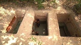 Build Underground House | How To Build Secret Ancient Underground House