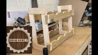 How to make a wooden wine rack | Part 1