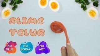 Cara Membuat Slime Dengan Telur dan Mama Lemon