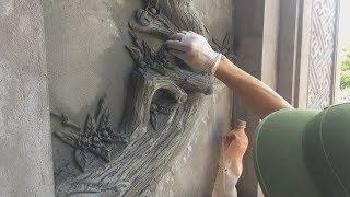 How To Make A Tree By Sand And Cement - Amazing House Contruction