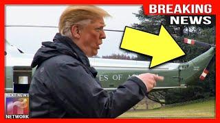 BREAKING: TRUMP BLINDSIDES MEDIA WITH UNSCHEDULED PRESS BRIEFING ON WHITE HOUSE LAWN