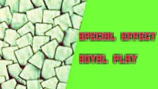Royal play special effects |  wall design | wall texture | spatula