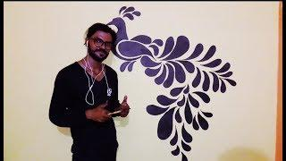 Awesome Wall Art & Painting-1 : Making of Peacock