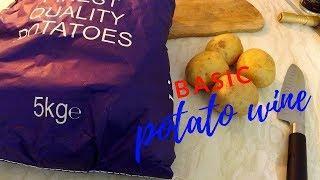 basic potato wine