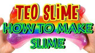 HOW TO MAKE SLIME FOR BEGINNERS! BEST EASY WAY TO MAKE SLIME!