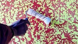 Wall putty texture painting design interior exterior full shining..9690673110. intzar Malik