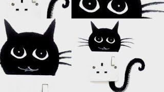 Switchboard decoration art /DIY switchboard wall painting idea/socket decoration idea